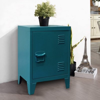 low bedside home stand storage locker